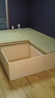 収納式畳ベッド