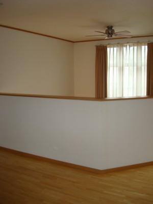 2世帯住宅に改装 市川市 K様邸 2階吹き抜け手すり施工前
