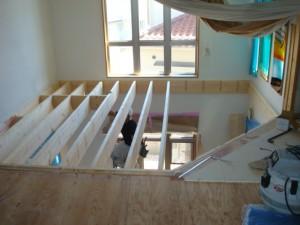 2世帯住宅に改装 市川市 K様邸 2階吹き抜け手すり施工後