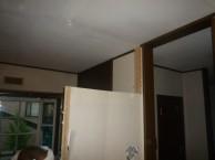 間仕切り壁撤去し広々空間へ 市川市 施工中