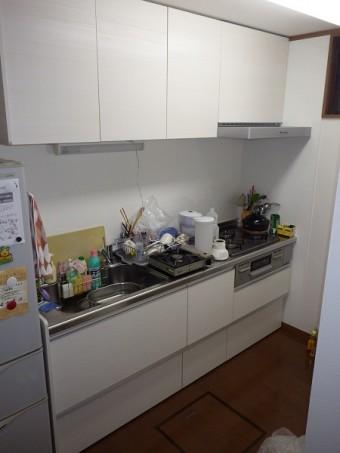 間仕切り壁造作 キッチン・内装リフォーム 市川市 T様邸 キッチン施工後