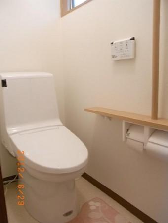 トイレ工事 施工後