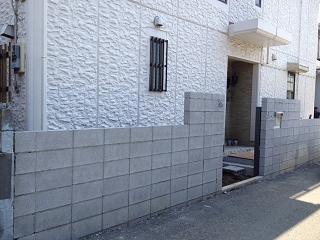 塀ブロック 習志野
