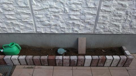 花壇 凍結防止