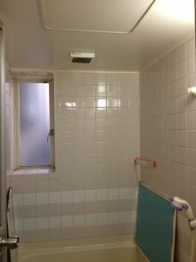 狭小住宅への採光とペットとの共生 東京都 浴室施工前