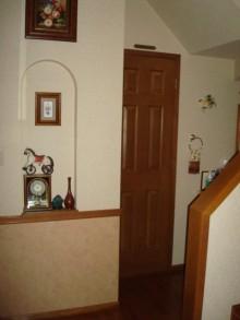 2×4住宅 1階全面改装 トイレ入口 施工前