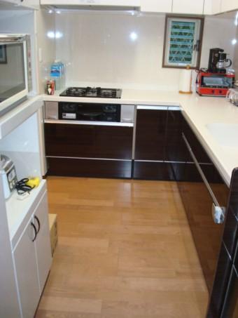 2×4住宅 1階全面改装 キッチン 施工後