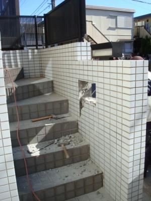 リクシルでお家の顔をイメージチェンジ 市川市 ポスト交換 施工中