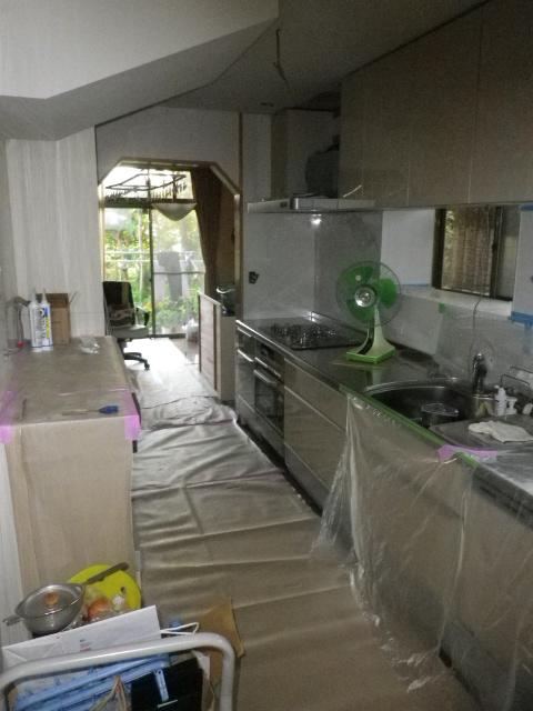 キッチン取り付け工事