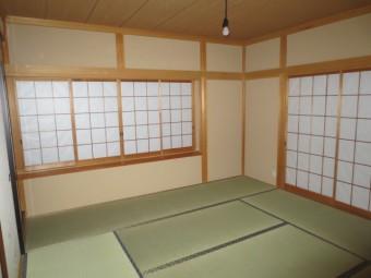 京壁風クロス施工後