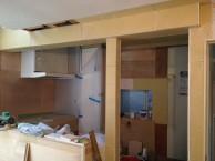 狭小住宅への採光とペットとの共生 東京都 LDK解体、補強、下地造作