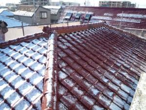 屋根工事 施工前