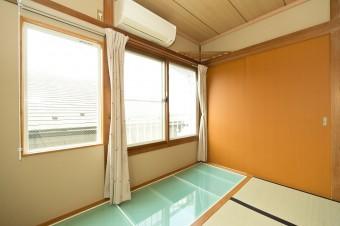 狭小住宅への採光とペットとの共生 東京都 和室施工後